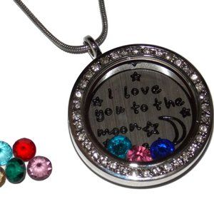 Jewelry - Custom Mothers Day Gift Love You to Moon and Back